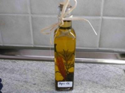 Öle - Gewürz-Öl selbstgemacht - Rezept