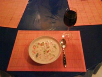 Suppe: Bunte Käsesuppe - Rezept