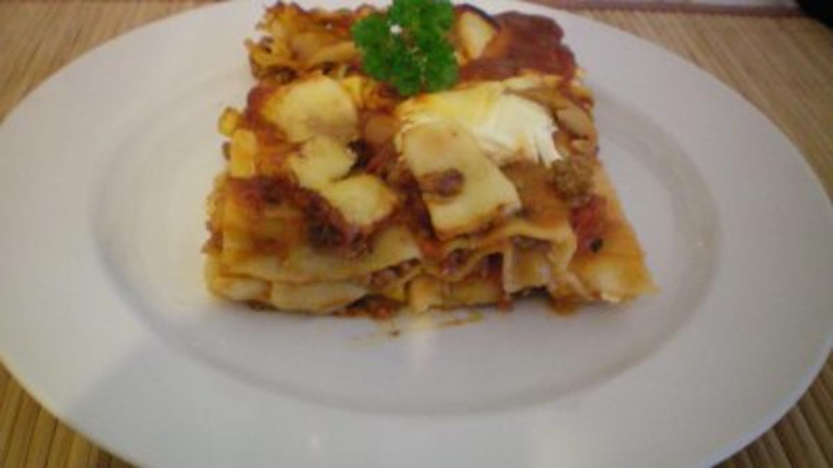 schnelle lasagne fettarm rezept mit bild kochbar de