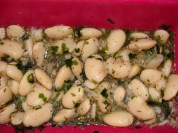 Salat : - Weiße Bohnensalat - - Rezept - Bild Nr. 2