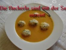 Süss-Scharfe Gemüsesuppe - Rezept