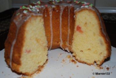 Vanillekuchen mit Grapefruit - Rezept