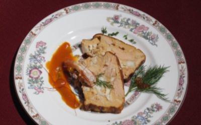 Pain de poisson et Sauce Basquaise - Rezept