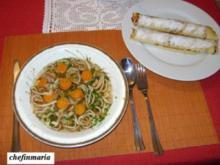 Frittatensuppe und Palatschinken mit Zwetschgenmarmelade - Rezept