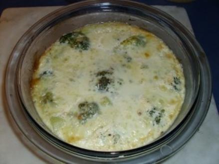 Broccoli-'Omelett' - Rezept