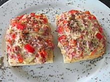 Pizzabrötchen Aufstrich - Rezept