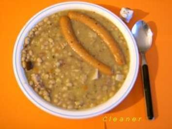 Rezept: Weiße Bohnensuppe