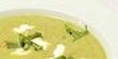 Erbsencreme - Suppe - Rezept