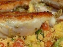 Tandoori-Hähnchen mit Couscous-Salat - Rezept