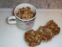 Beilage: Mehrkornbrot aus dem Becher und in Scheiben gebraten - Rezept