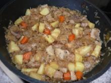 Pfannengericht:  Sauerkrautpfanne - Rezept