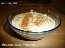 Andalusischer Milchreis - Rezept
