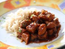 Schalottenfleisch mit Sojasoße - Rezept