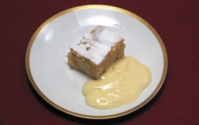 Apfel-Rum-Kuchen - Rezept