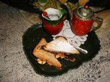 Süßes Bananen-Sandwich im Ofen geröstet - Rezept