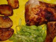 """Geflügel ,, Bresse"""" Huhn im Ofen gegart. Sollte man sich mal gönnen. - Rezept"""