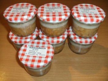 Wursten: Schmalzfleisch  -  Variante 1 - Rezept