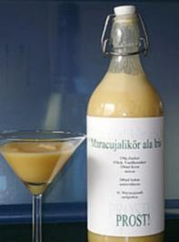 Maracujalikör - Rezept