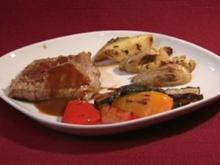 Verdura fresca con carne y patatas - Frisches Gemüse mit Fleisch und Kartoffeln (Fiona Erdmann) - Rezept