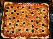 Bolognese-Pizza - Rezept