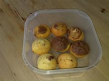 Muffins: Marmor-Nutella-Muffins - Rezept