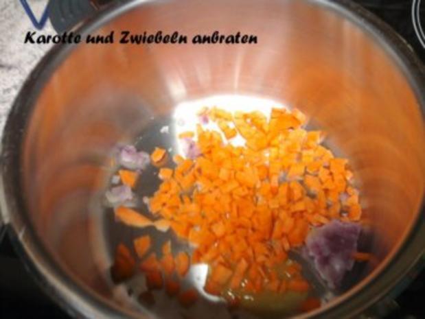 Steinpilz-Risotto mit Parmesan-Schnitzel - Rezept - Bild Nr. 5