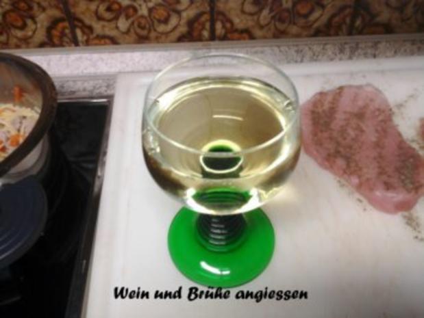 Steinpilz-Risotto mit Parmesan-Schnitzel - Rezept - Bild Nr. 6