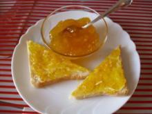 Mango Marmelade mit Schuss - Rezept