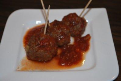 """Spanische Fleischbällchen """"Albondigas""""  in Tomatensauce - Rezept"""