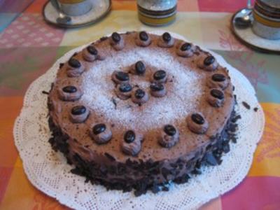 Mocca-Torte / Mokka-Torte - Rezept