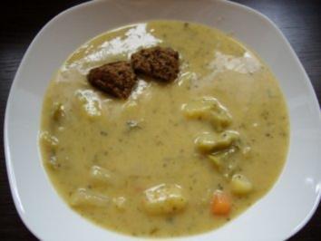 Rezept: Cremige Gemüsesuppe