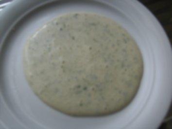 Schnittlauch -  Schaum-Soße - Rezept