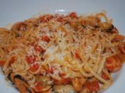 Annis Pasta frutti die mare - Rezept