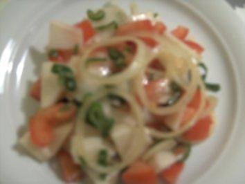 Mai-Rübchen-Tomatensalat - Rezept
