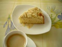 Honig-Birnen-Kuchen - Rezept