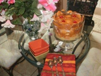 Pudding:Amerikanisches Schnell Dessert -  Bananas- Vanilla Wafers Pudding - einfach zu machen - richt himmlisch und schmeckt himmilisch - Rezept