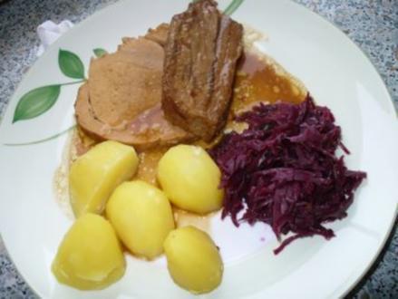Sonntagsbraten halb Rind - halb Schwein - Rezept - Bild Nr. 11