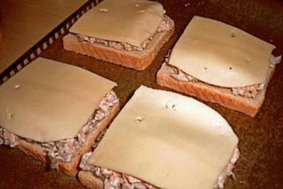"""Rezept: """"kleiner Snack""""-Thunfisch-Toast"""