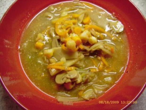 Asia - Suppe - Rezept