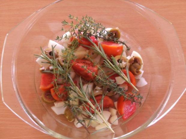 Fleisch: Hähnchen provençal - Rezept - Bild Nr. 3
