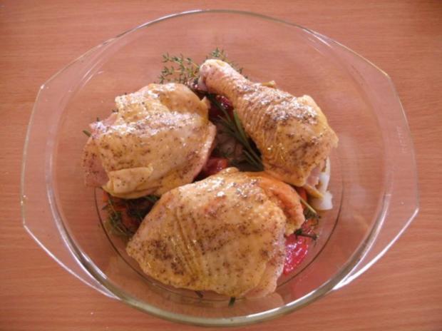 Fleisch: Hähnchen provençal - Rezept - Bild Nr. 5