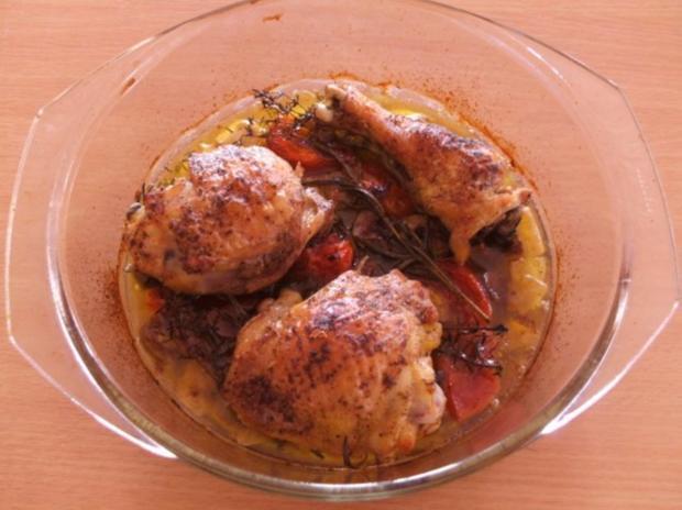 Fleisch: Hähnchen provençal - Rezept - Bild Nr. 6