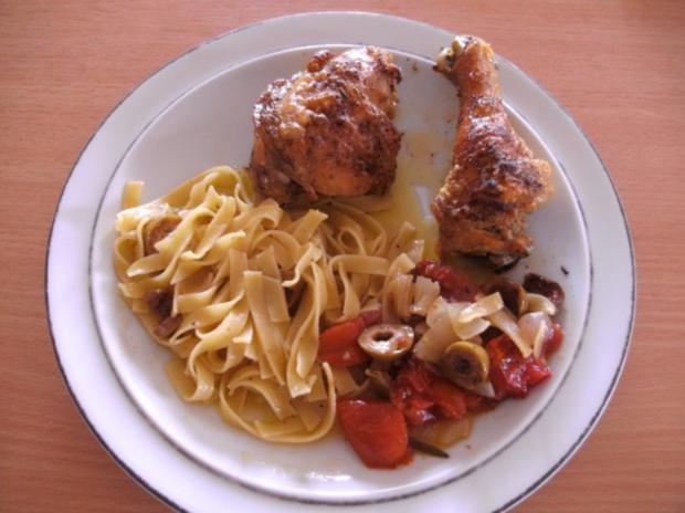 Fleisch: Hähnchen provençal - Rezept