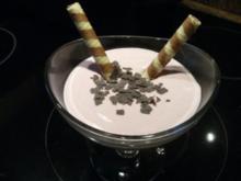 Dessert:  SAHNEQUARK   mit Kirschgeschmack - Rezept