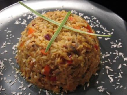 Karibischer Thunfisch-Reis - Rezept