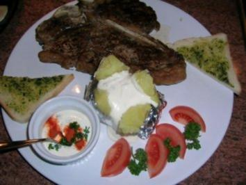 Rezept: Sour Cream - Als Fülle für meine Ofenkartoffeln zum T-Bone Steak