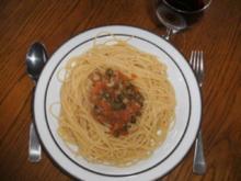 Hauptgericht: Spaghetti mit Kapern und Sardellenfilets - Rezept