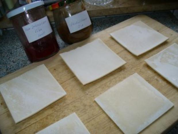 Süße Teilchen aus Blätterteig - Rezept - Bild Nr. 4