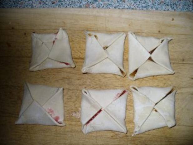 Süße Teilchen aus Blätterteig - Rezept - Bild Nr. 6