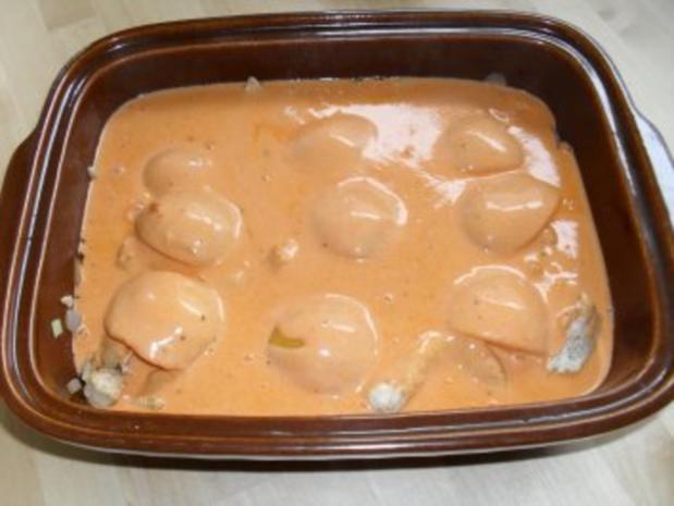 Auflauf mit Pute und Pfirsich - Rezept - Bild Nr. 4
